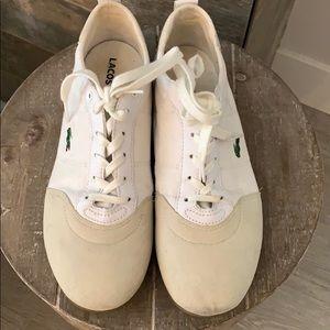 Lacoste Tennis Shoe- Size 8.5